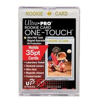 """(5-Pack) Ultra Pro One Touch Magnetic Trading Card Holder """"ROOKIE"""" 35pt w/ UV"""