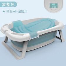 Los niños bañera bebé recién nacido de suministros de barril Reclinable Baño De Baño Bañera Plegable