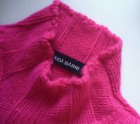 AIDA BARNI • 100% CASHMERE KASCHMIR • Luxus-PULLOVER • XL 44 46 *MADE IN ITALY*