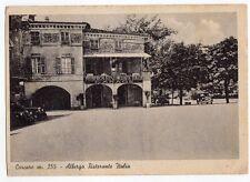 cartolina postcard - CARCARE m. 355 ALBERGO RISTORANTE ITALIA