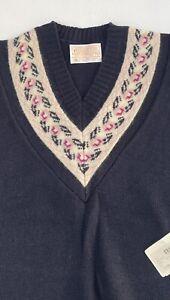 Pendleton Womens Small Sleveless virgin wool vest shirt NWT NEW (A15)