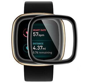 Soft 3D Screen Protector for Fitbit Versa 3 Smartwatch Full Cover Film