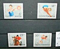 "FRANCOBOLLI YUGOSLAVIA 1984 ""OLYMPICS LOS ANGELES"" NUOVI MNH** SET (CAT.5A)"