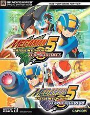 Megaman 5: Battle Network Team Colonel/Protoman (Gameboy Advance) Strategy Guide