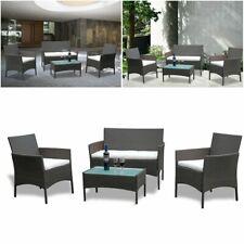 Poly Rattan Garten Garnitur Sitzgarnitur Gartenmöbel Lounge Balkon Sitzgruppe