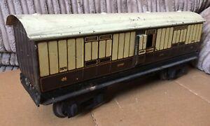 Vintage MARKLIN Gauge 1 LUGGAGE Van LNWR 2874