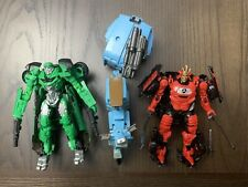 Hasbro Transformers The Last Knight Crosshairs, Sqweeks & Drift Lot Of 3