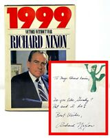 Richard Nixon - 1999 - SIGNED 1st 1st - 1 of a Kind Signed / Unusual - Gumby