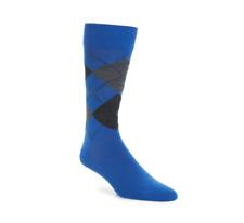 Boss Hugo Boss Argyle Men's Navy Socks Sz 7-13 3115