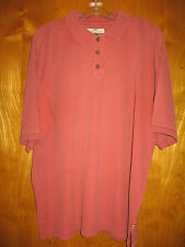 Tommy Bahamas l large silk cotton blend polo style shirt