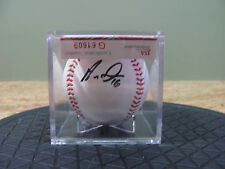 Aramis Ramírez signed on Official Baseball W/Display case, COA from JSA, USC#255