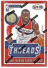 2014-15 Panini THREADS Basketball NBA Trading Cards New 20ct. Hobby Blaster Box