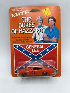 1981 ERTL 1:64 The Dukes Of Hazzard General Lee Die Cast Car Sealed New MOC