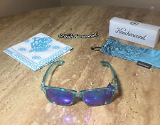 Knockaround Sunglasses Pow! Wow! Hawaii V 5 Premiums Teal LE Sold Out