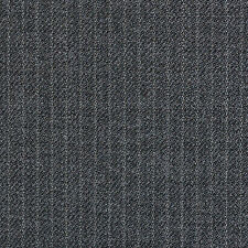 Holland and Sherry Medium Grey Narrow Pinstripe All Wool Suiting - 3.50 Mtrs