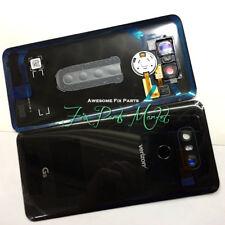 Origin Rear Panel Glass Back Cover Assembly Replace fr LG G6 Verizon VS988-Black