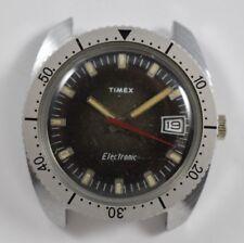 Vintage Timex Electric 36.30mm Diver Bezel Mens Wrist Watch LOT#3