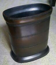 Bathroom Waste Basket, Simple Yet Elegant, Espresso