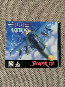 Blue Lightning Atari Jaguar CD - Includes Manual and Insert excellent condition