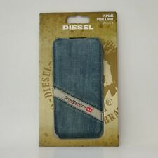 Diesel Scissor Flip Case 18316 for iPhone 6, Polycarbonat/Denim used, OVP