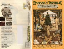Banana Republic - Old Safari catalogs -  00006000 Hemingway Style Outdoor Fashion >> Rare
