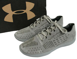 Under Armour Womens Size 10.5 Street Precision Low Luxe Steel Gray Shoes 1296225