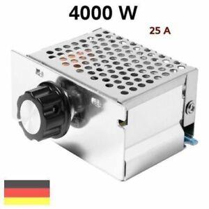 230V Spannungsregler Drehzahlregler Drehzahlsteller Leistungsregler Dimmer