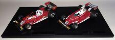 GP Replicas Ferrari 312 T 1975 & 312 T2 1977 Niki Lauda 1/18 World Champion Set