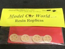 Model Car World MCW American Racing Wheels w/o center caps McM 1/25