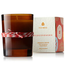 Thymes Gingerbread Aromatic Votive 2 oz. net wt. - NEW in box