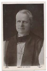 RELIGION / DEVON - BISHOP of EXETER 1912 Real Photo Postcard