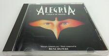 CIRQUE DU SOLEIL – Alegria - 1994 - CD -- Rene Dupere