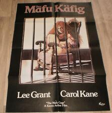 A1-Filmplakat  DER MAFU KÄFIG , LEE GRANT CARROL KANE