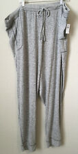 NWT Old Navy Womens French Terry Joggers Gray 4x Plus SZ Pull On Athleisure