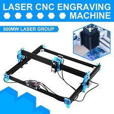 500mw Mini Cnc 3040 Laser Engraver Gray Engraving Router Wood Plastic Acrylic Us