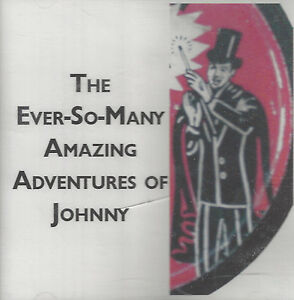 EVER-SO-MANY AMAZING ADVENTURES OF JOHNNY  child interactive DVD great gift