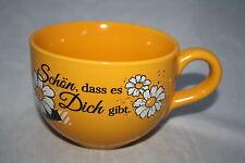 Schön, dass es dich gibt Jumbotasse Wächtersbach Keramik  600ml Tasse neue Serie