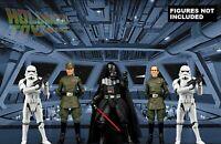 Star Wars Black Series Vader Star Destroyer Display Diorama Backdrop (No Figure)