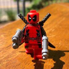 LEGO MARVEL SUPER HERO X-MEN DEADPOOL GENUINE MINIFIGURE ONLY FROM SET 6866 RARE