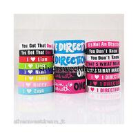 Bracciale One Direction directioner bangle braccialetto bracelet pulsera