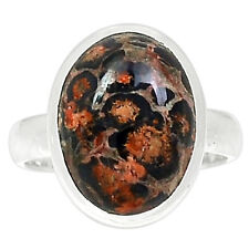 Leopard Skin 925 Sterling Silver Ring Jewelry S.8 LPDR173