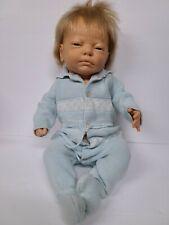 """Vtg Berjusa Baby Boy Doll 21"""""""