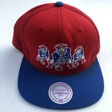 Men's Mitchell & Ness New England Patrioys Snap Back Hat