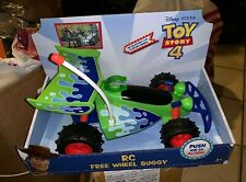 Disney Pixar Toy Story 4 RC Free Wheel Buggy Toy Push And Go Car Buzz Woody
