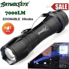 10000LM Q5 AA/14500 ZOOMABLE 3 Modes LED Taschenlampe Fackel Super Hell