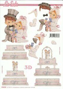 3D-Bogen - Hochzeit, Heirat, Liebe, Verliebt - Schneidebogen - Motivbogen Le Suh