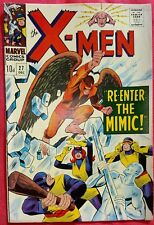 X-Men 27 Marvel Silver Age 1966 The Mimic Spiderman appearance vfn