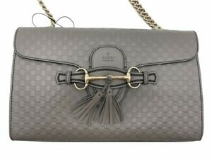 Womens Designer Gucci Emily Bag