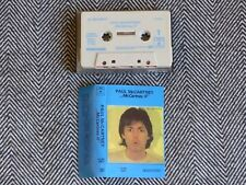 PAUL Mc CARTNEY - Mc Cartney II - K7 audio / TAPE