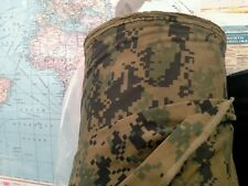 Military Digital Camo Fabric ACU Marine Marpat by the half yard 59 inches wide